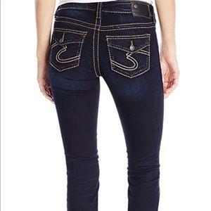 Silver Suki super skinny Jeans